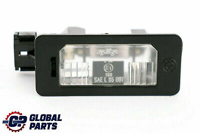 Bmw 3 5 Series E39 E60 E61 E71 E90 E91 E92 Number Plate Light Reg Lamp 7165646