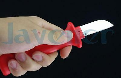 German Style Cable Knife Patent Fixed Straight Blade 32HS