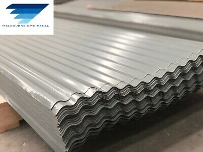 Colorbond Corrugated Roofing Steel Sheets Dark Grey $8.25 L/M