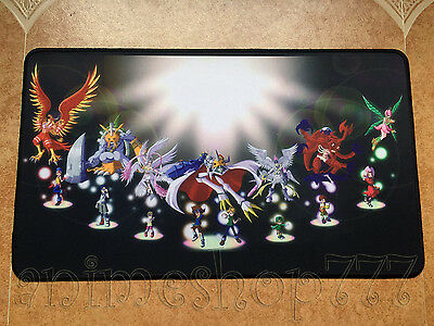 Digimon Yugioh VG MTG CARDFIGHT Game Large Keyboard Mouse Pad Playmat #9
