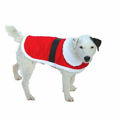"Dog Santa Coat XXL 600mm (24"") AM10013"