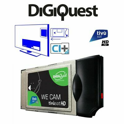TivuSat Digiquest SmarCam HD and Pre -Activated Smartcard – Brand New
