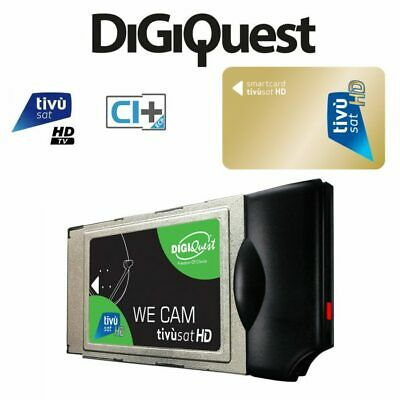 TivuSat Digiquest HD 4K CAM and Card* Brand New