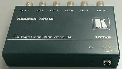 Kramer Electronics 105VB 1:5 Composite Video Distribution Amplifier