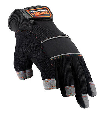 Scruffs PRECISION Max Performance Gloves Mechanics Safety Work Glove Fingerless