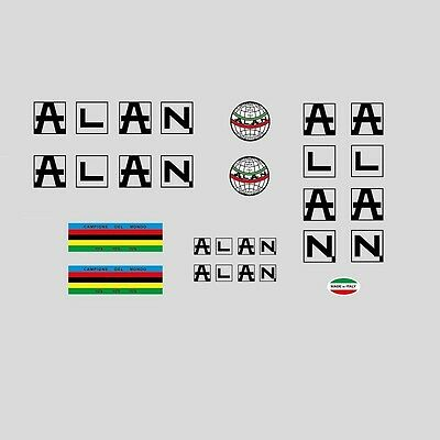 Alan Bicycle Frame 1977 Stickers - Decals - Transfers n.30