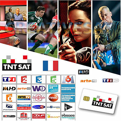TNTSAT HD French Pre-Activated Viewing Card- Watch French TV Now!!!