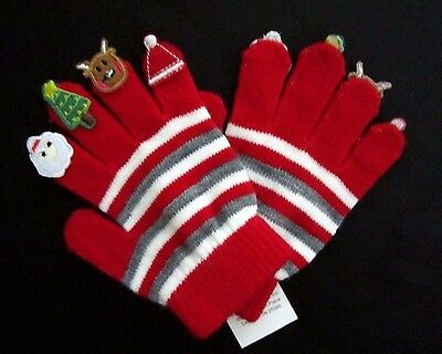 Classic Characters Little Kids WX Applique Finger Gloves One Size