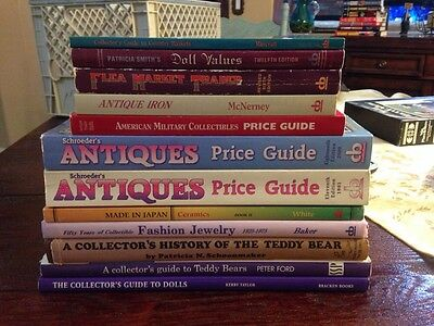 Collectors Guide. Antique Teddy Bear,jewelry,antiques,etc