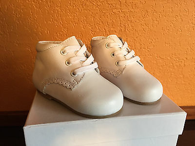 Toddler Walking Shoes White Leather Unisex US Size 2 3 4 5 6 Compare Stride Rite