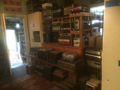 Retro Vint Av Audio Sound Visual Eqpt T/tables Amps Speak Radio Cass Super 8 Etc