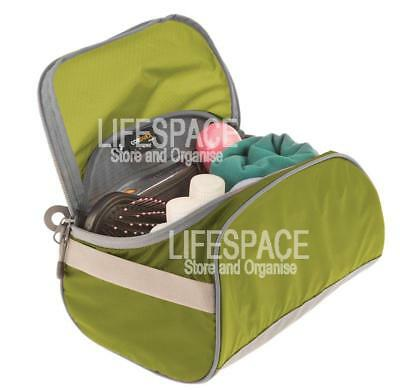 NEW Sea To Summit Travelling Light Toiletry Cell Small Lime