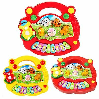 Cute Baby Music Musical Developmental Animal Farm Piano Educational Toy Hot Sale