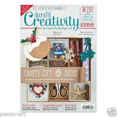 Docrafts creativity magazine November 2015 no. 64 +FREE tags & decopatch paper