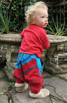 Childrens Baby Harem Trousers cotton Alibaba Hippy Clothes Aladdin Gypsy Pants