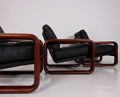 70s SOFA + 3  EASY CHAIRS ROSENTHAL HOMBRE B.VOGTHERR sofa 3 fauteuils a 70 a70