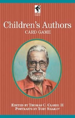 Children's Authors Card Game Playing Cards New