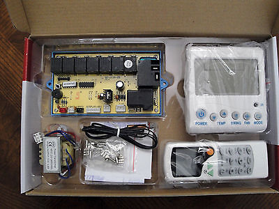 Universal A/c Control System - Deluxe Microcontroller Ac Control System