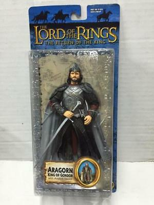 "Toybiz Signore degli Anelli Lord of the Rings ARAGORN 6"" Action Figure MOC, 2004"