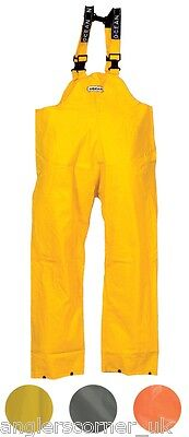 Ocean Off Shore Bib & Brace Trousers 460g PVC / Work Wear / Fishing / 18-13