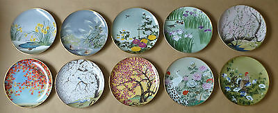 FRANKLIN PORCELAIN Birds and Flowers of the Orient Plates (Individual Priced)