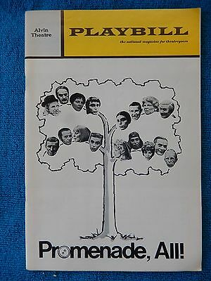 Purlie - Broadway Theatre Playbill - April 1970 - Cleavon Little - Melba Moore