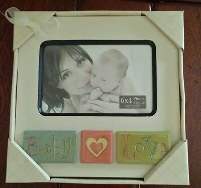 NEW Baby Picture Frame  6 x 4  photo frame