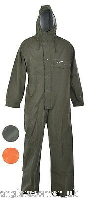 Ocean Off Shore One Piece Coverall Suit 460g PVC / Work Wear / Fishing / 18-50