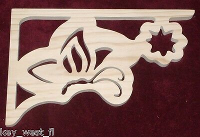 Victorian Gingerbread Fretwork BUTTERFLY ~ Gazebo Corbel Shelf Bracket ~ by PLD