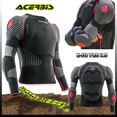 Pettorina Protezione Acerbis Cross Enduro X-Fit Pro 2.0 Body Armour Taglia L/Xl