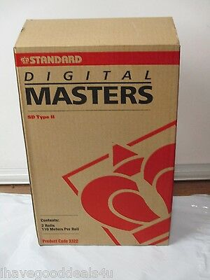 Standard Digital Duplicator 3322 SD Type II Masters