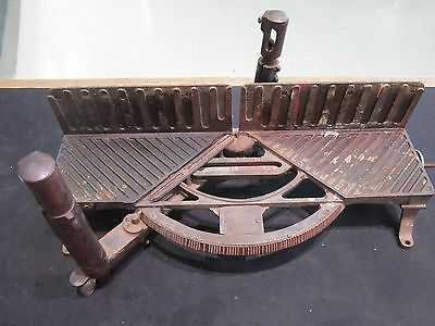 Norvell Shapleigh Hardware Co. Miter Box Saw Vintage St. Louis Mo.