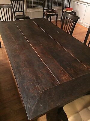 Wood Dinner Table
