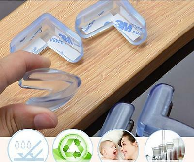 8Pcs Baby Safety Collision Angle Triangle Transparent Protective Cover Corner