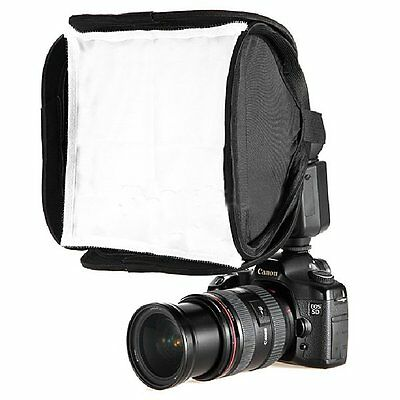 23x23cm Mini Portable Nylon Softbox for SonyF58AM F56AM Nikon Yongnuo Speedlite