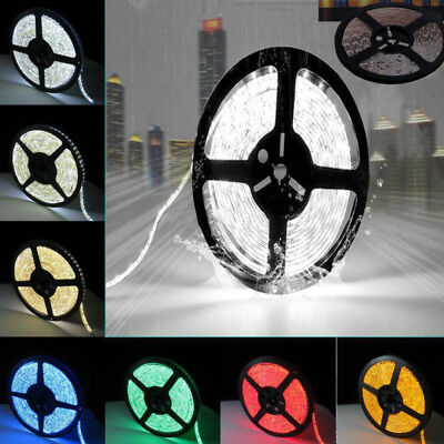 5M RGB 3528 SMD 300 600 LEDS Strip Stripe Leiste Streifen Band 12V Waterproof