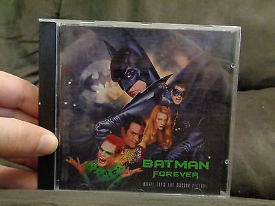 BATMAN FOREVER_Soundtrack_used CD_ships from AUS!_C7