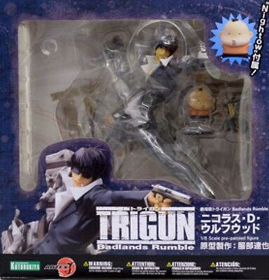 Used The Movie Trigun Badlands Rumble ARTFX J Nicholas D wolfwood 1/8 Painted