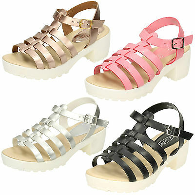 WHOLESALE Girls Sandals / Sizes 10-2 / 16 Pairs / H1066
