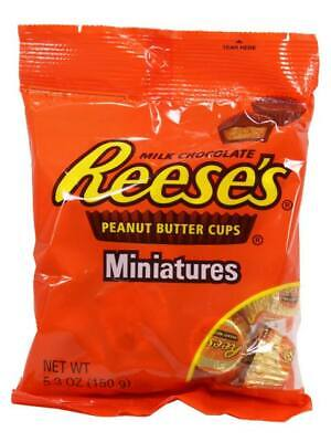 Hersheys Reeses Peanut Butter Cups Miniatures 150g  (2,66 EUR pro 100 g)