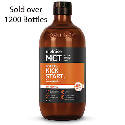 Melrose MCT Oil Original 100% Coconut Oil Derived 500ml