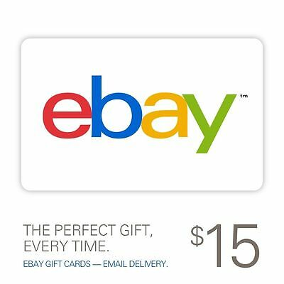 $15 eBay Gift Card - Email Delivery