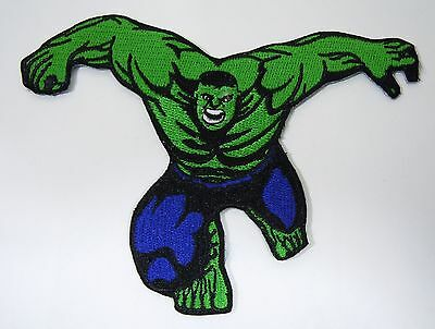 "THE INCREDIBLE HULK Super Hero Embroidered Iron-On Patch - 3.5"" -  High Quality"