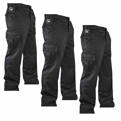 "Pack of 2 New Men Cargo Combat Work Trousers Pants Size 30""-40"""