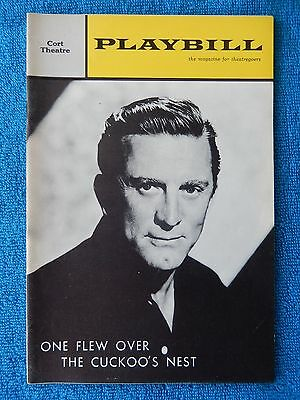 One Flew Over The Cuckoo's Nest - Cort Playbill - Opening Night - November 1963