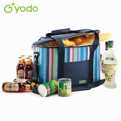 Yodo Large Cooler Bag 25L Insulated Soft Shoulder Portable Picnic Camping Beach