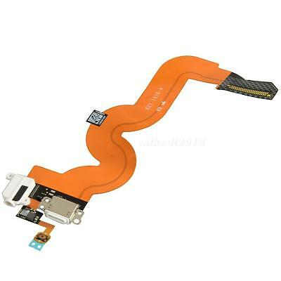 White Charging Dock Port Audio Jack Flex Cable For iPod Touch 5th Gen A1421 MKLG