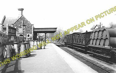 Malmesbury Railway Station Photo. Great Somerford and Dauntsey Line. GWR. (1)