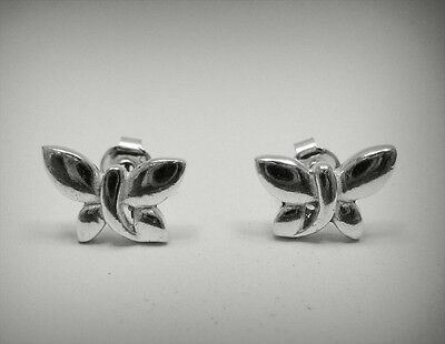 Sterling Silver Earrings Solid 925 Small Dragonfly New E000459 Empress