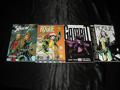Rogue 1 - 4 The Complete Collection 1 - 12 Gambit Vol 1  X-Treme X-Men Vol 6 Tpb